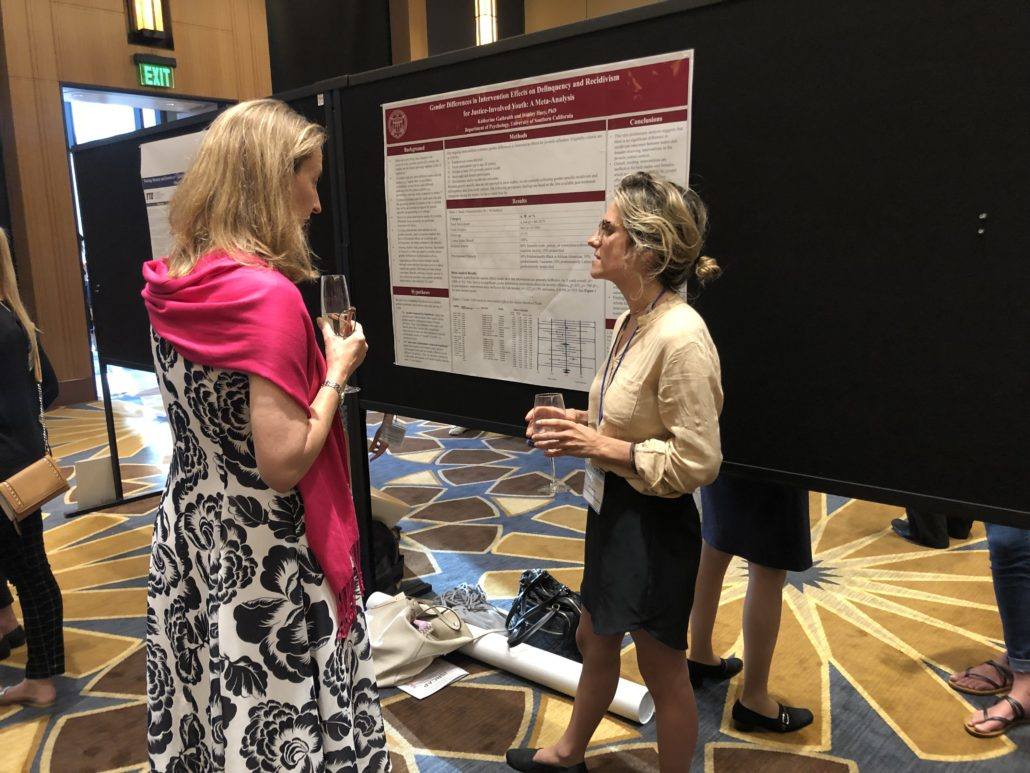 Katie at ISRCAP 2019